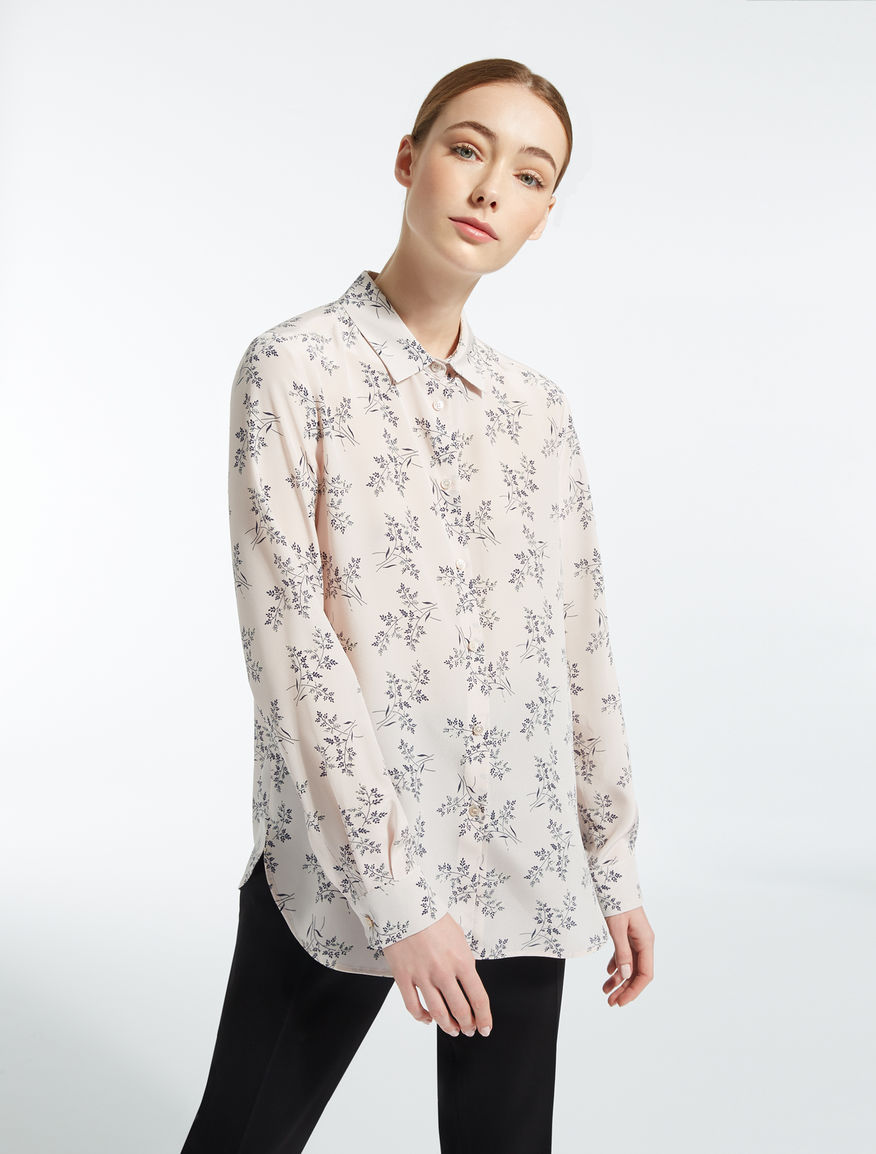 Silk crêpe de chine shirt Weekend Maxmara
