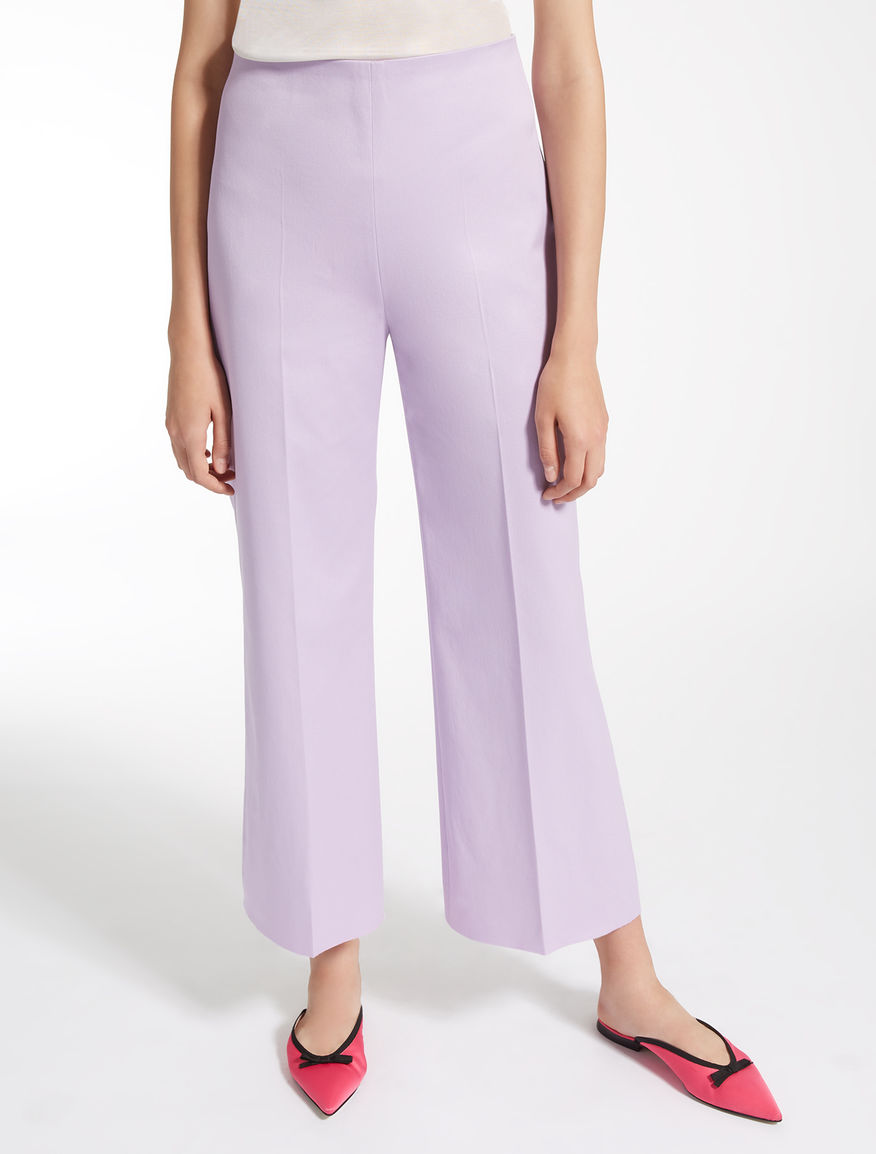 Pantaloni in cotone Weekend Maxmara
