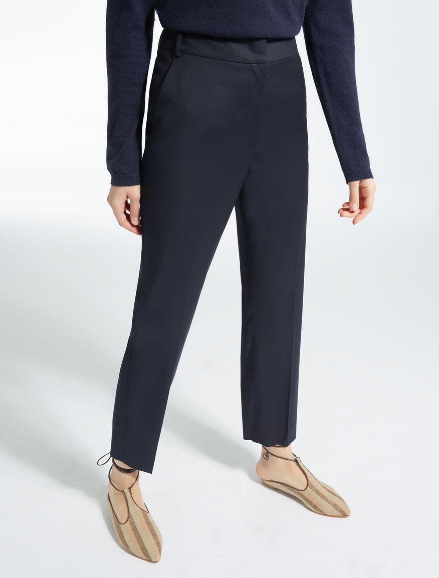 Pantaloni in tela di lana Weekend Maxmara