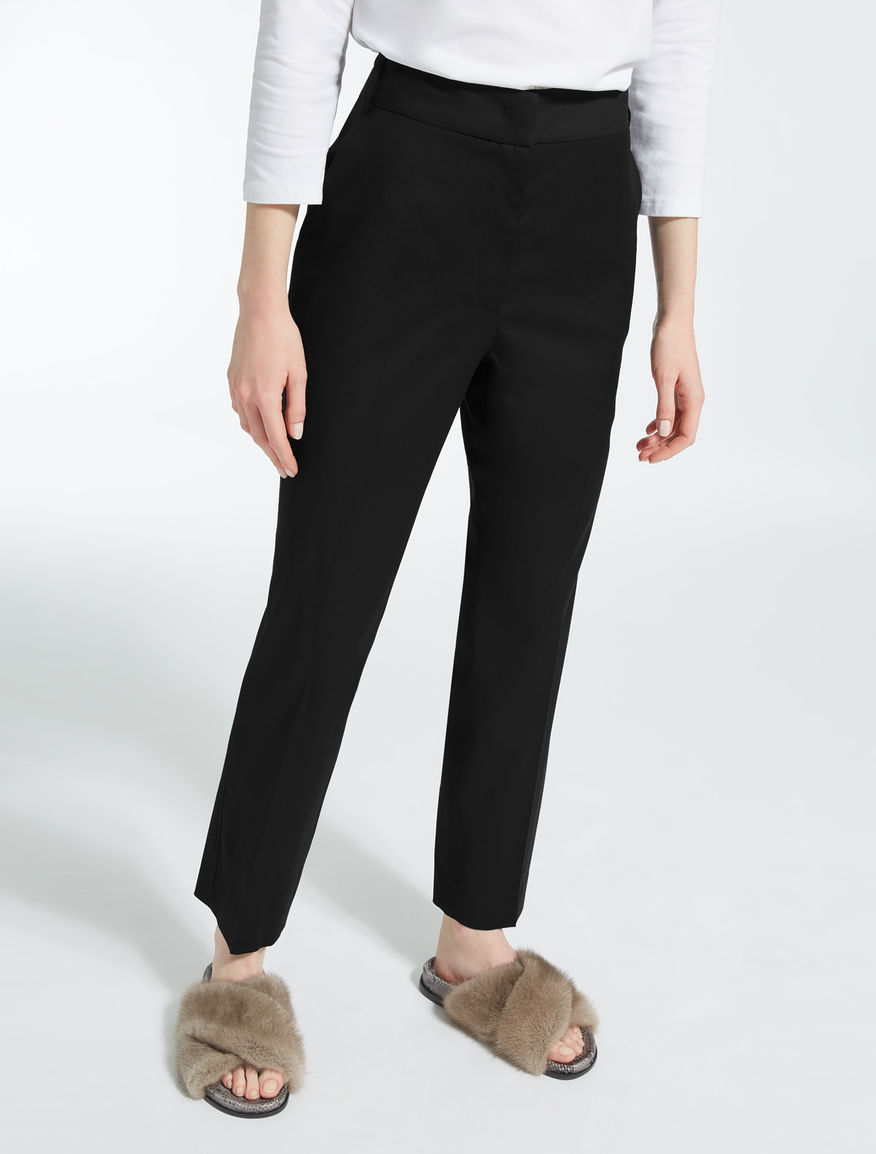 Wool cloth trousers Weekend Maxmara