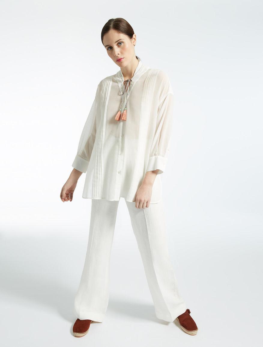Linen trousers Weekend Maxmara