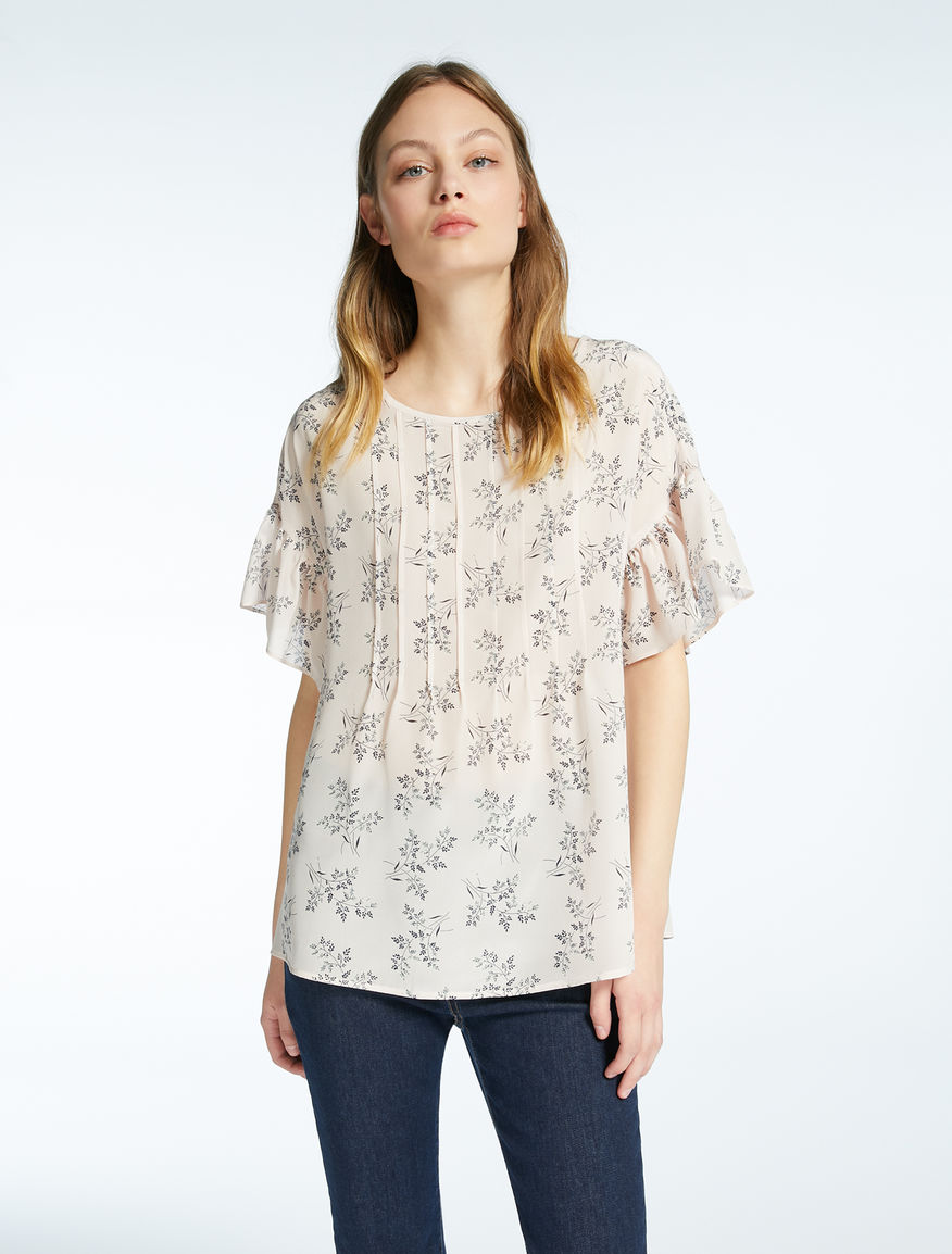 Silk crêpe de chine top Weekend Maxmara