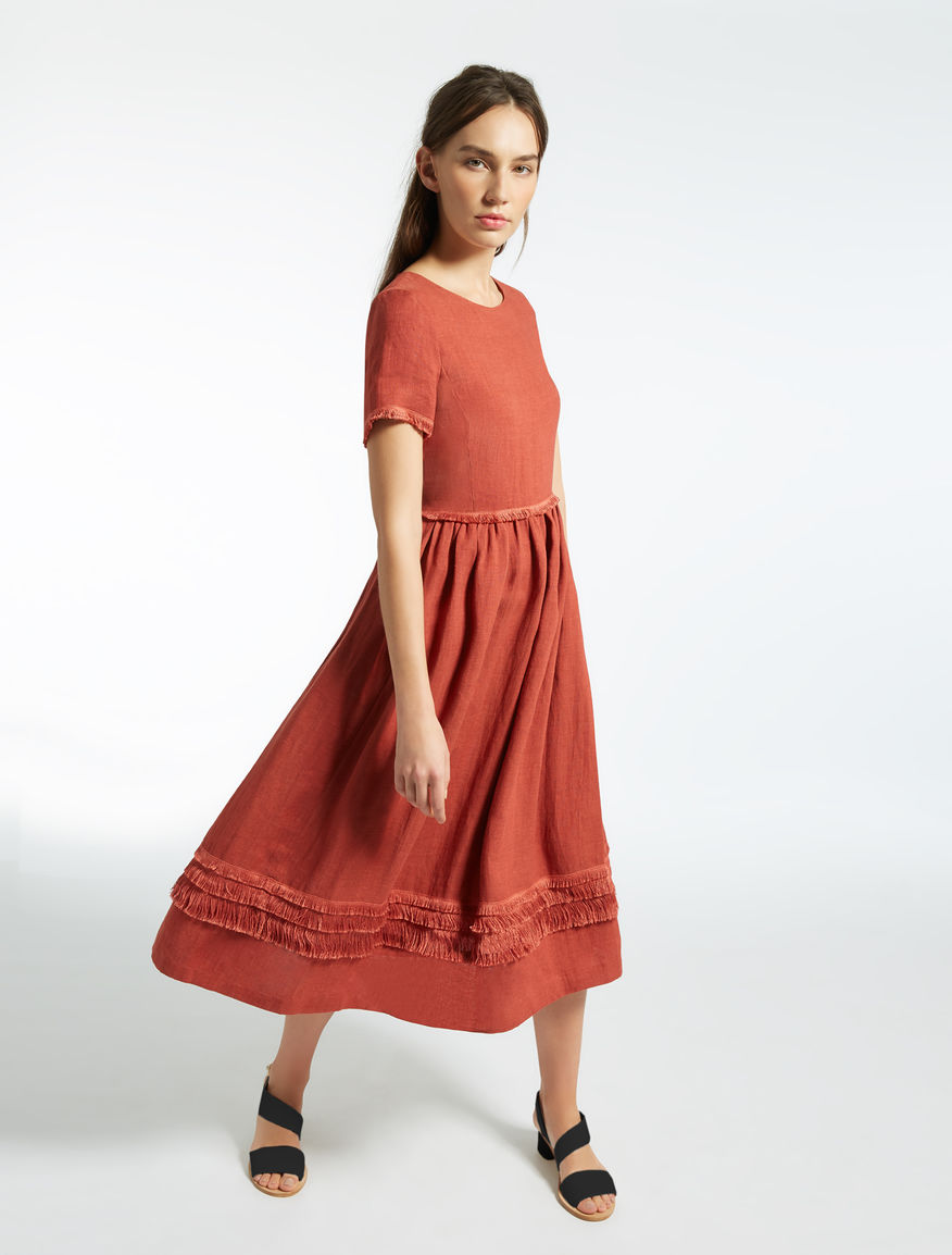 Linen dress Weekend Maxmara