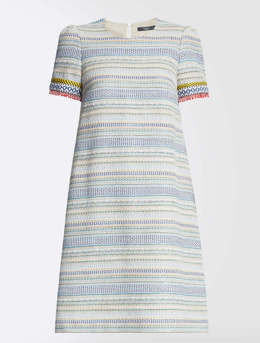 Cotton basketweave dress Weekend Maxmara