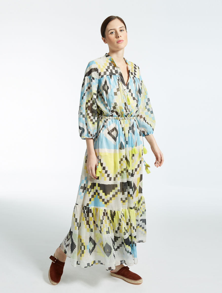 Silk and cotton voile dress Weekend Maxmara