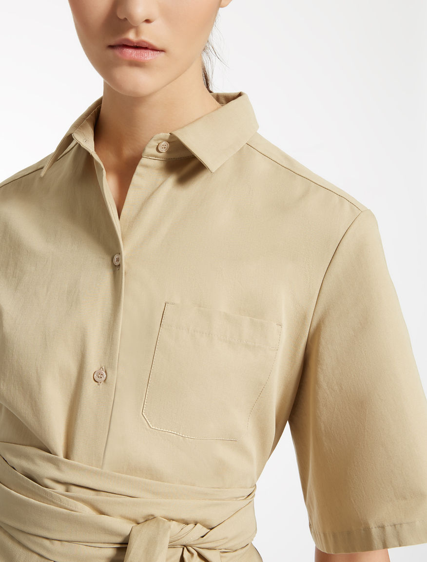 Cotton faille jumpsuit Weekend Maxmara