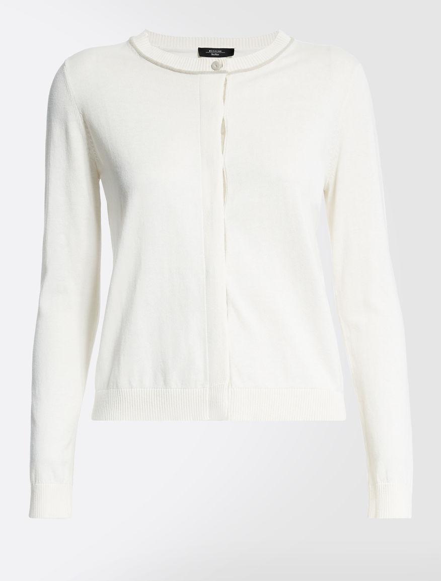 Silk and cotton cardigan Weekend Maxmara