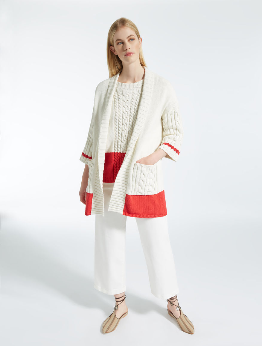 Cardigan in cotone Weekend Maxmara