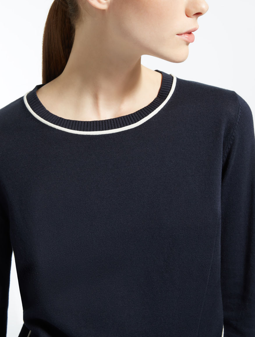 Silk and cotton sweater Weekend Maxmara