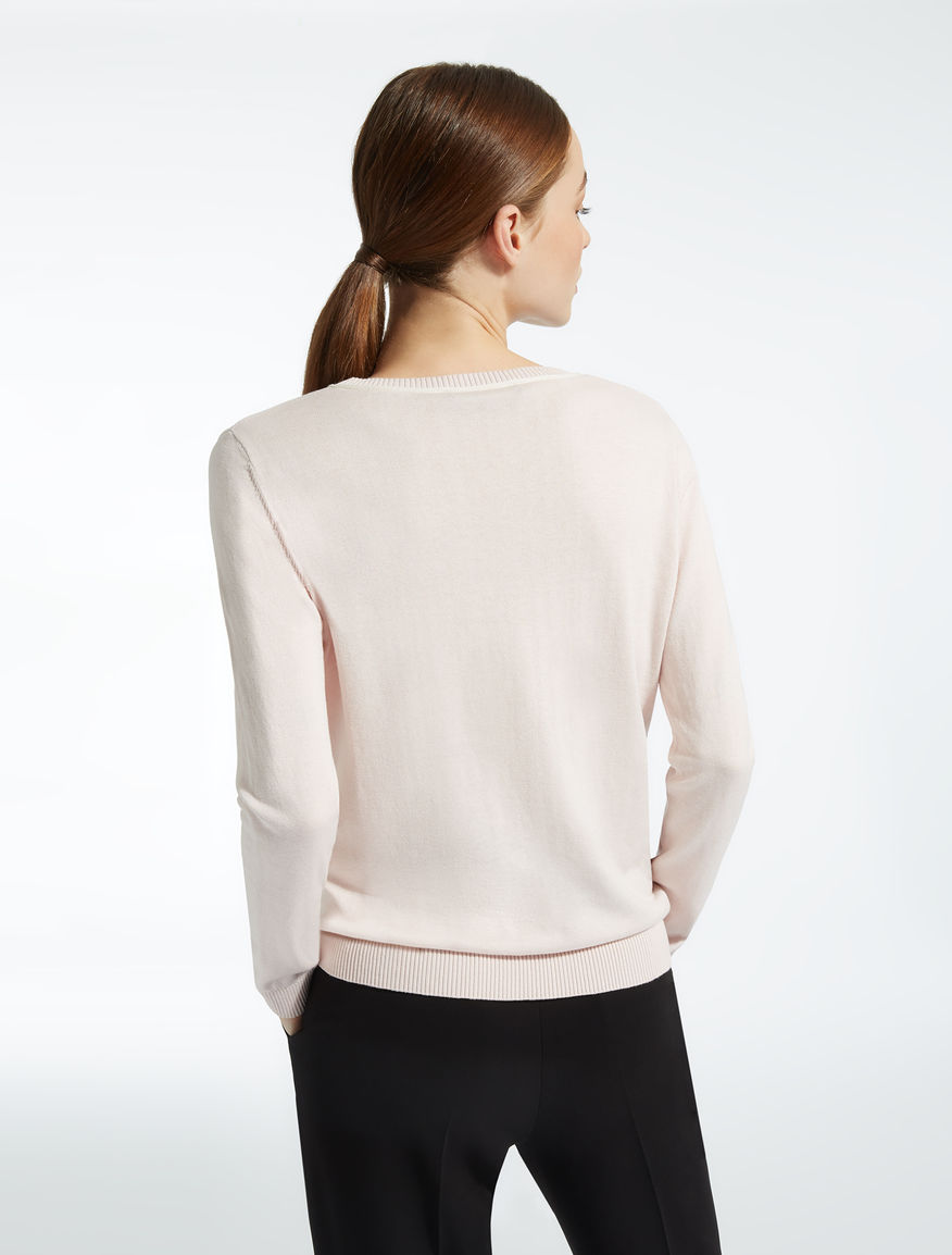 Silk and cotton sweater Weekend Maxmara