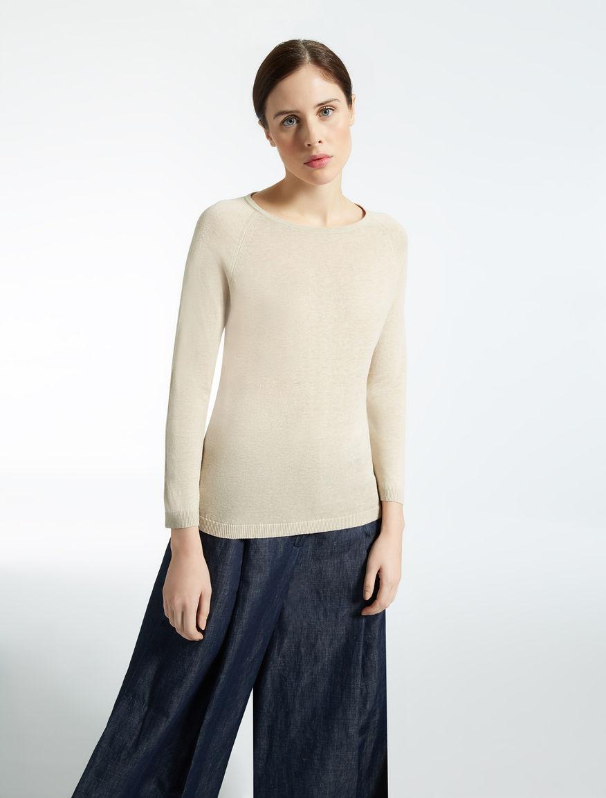 Silk and linen sweater Weekend Maxmara