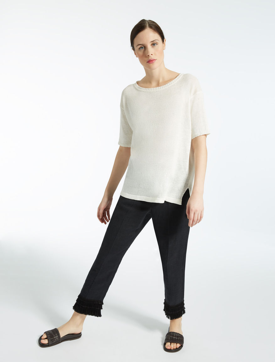 Linen jumper Weekend Maxmara