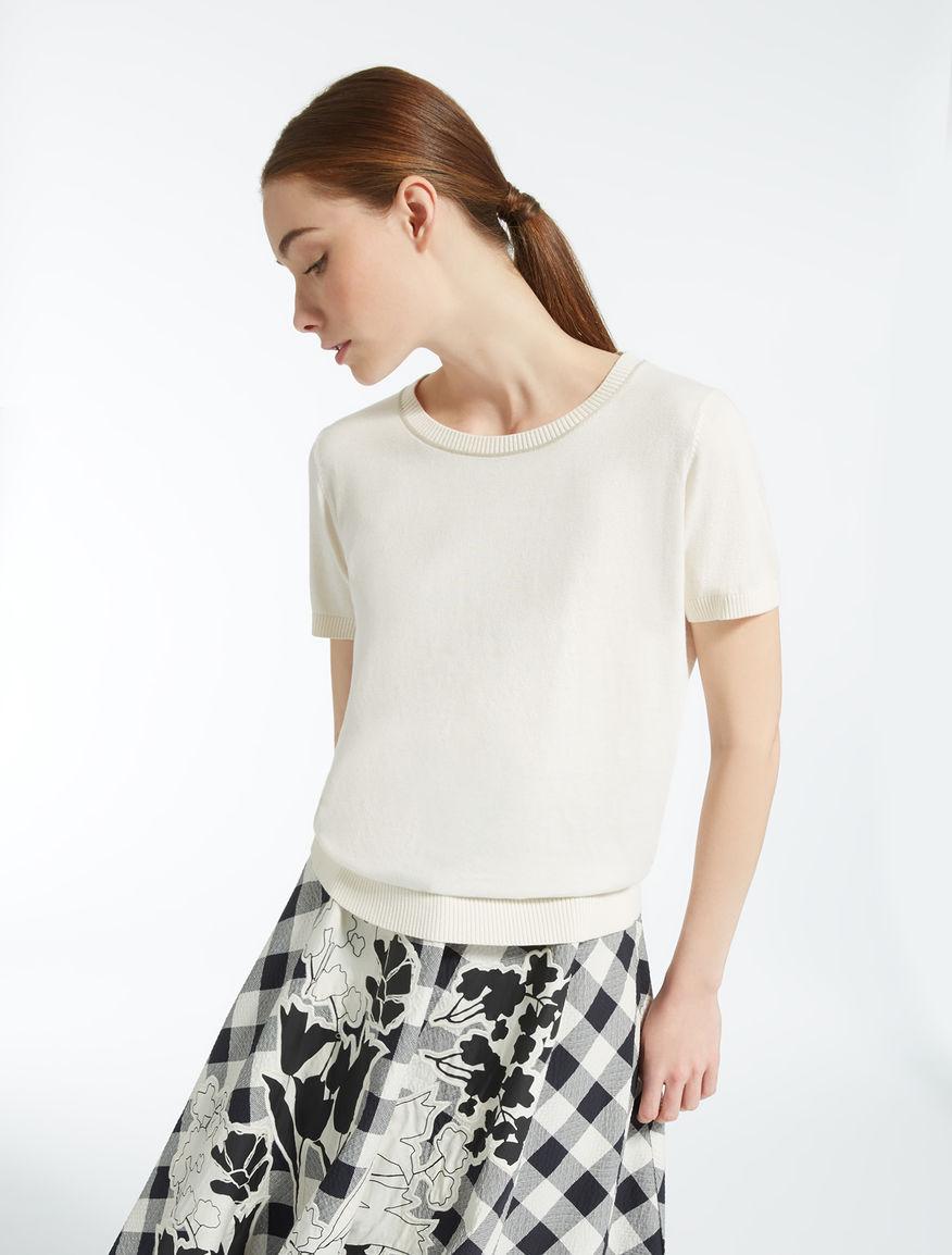 Sweater in silk and cotton  Weekend Maxmara