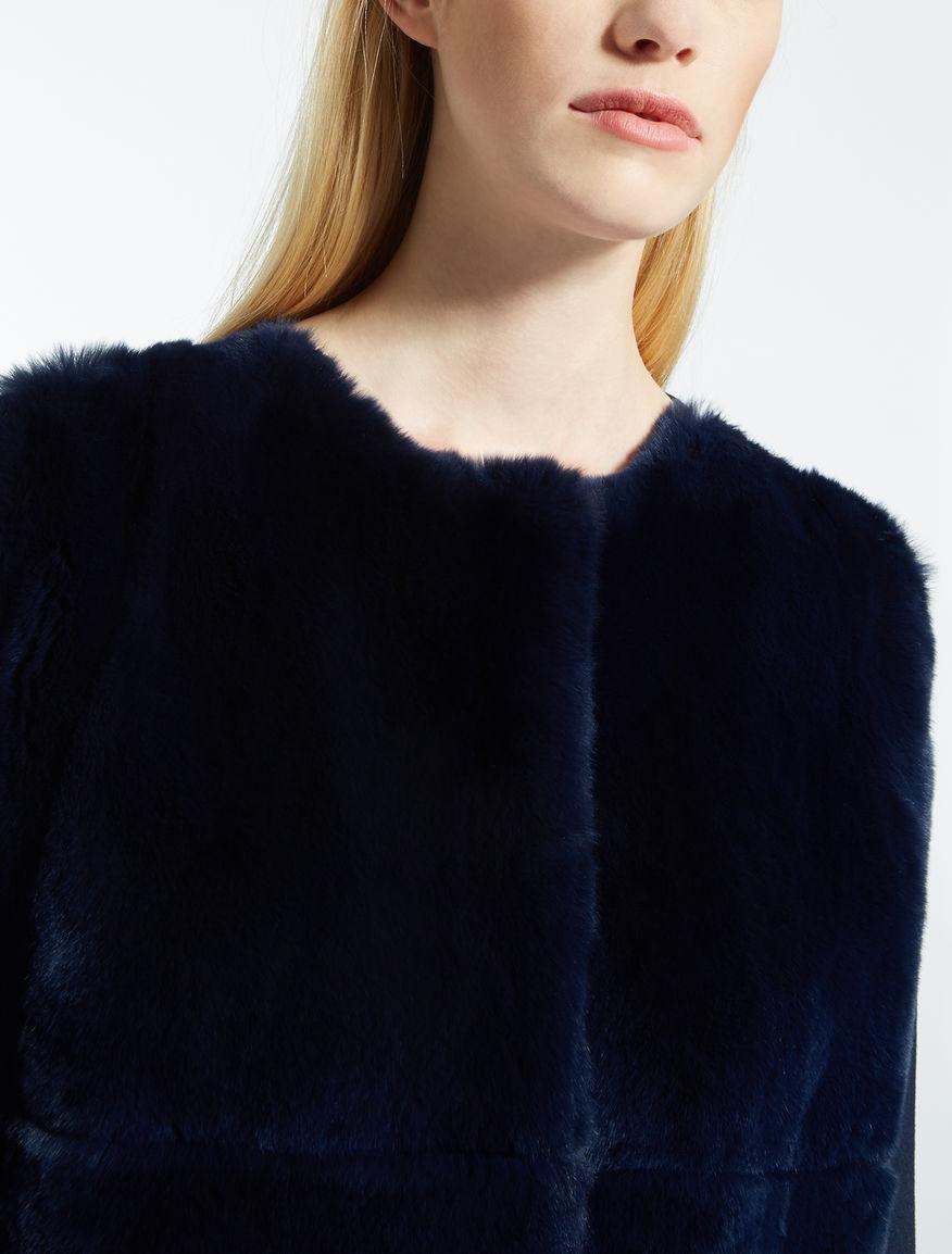 Rabbit fur coat Weekend Maxmara