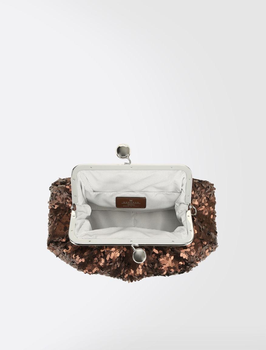 Medium Pasticcino Bag with sequins Weekend Maxmara