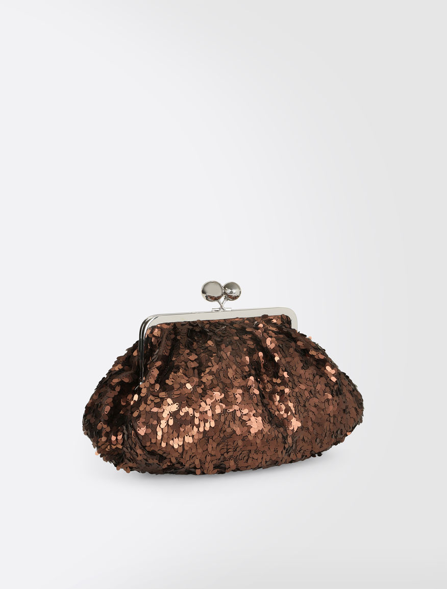 Medium Pasticcino Bag with sequins Weekend Maxmara