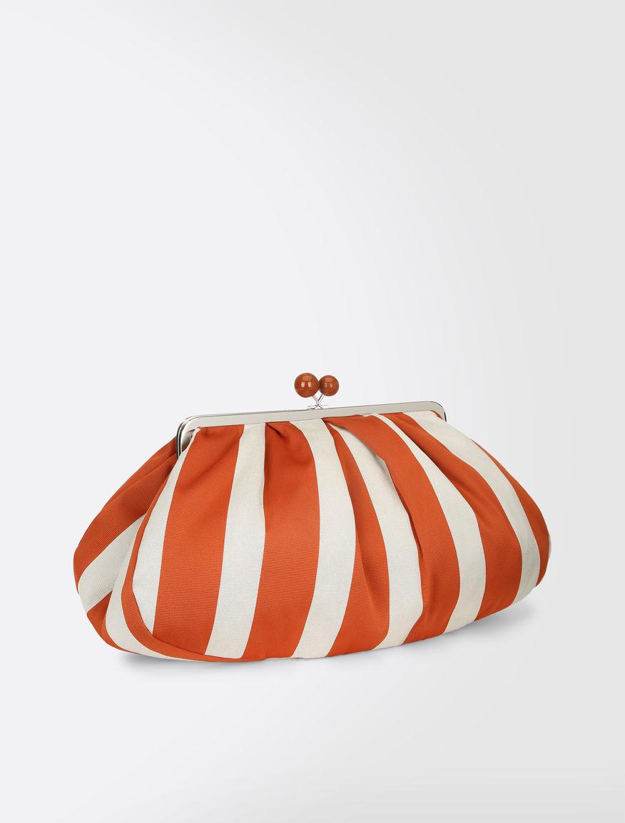 Striped cotton Maxi Pasticcino Bag Weekend Maxmara