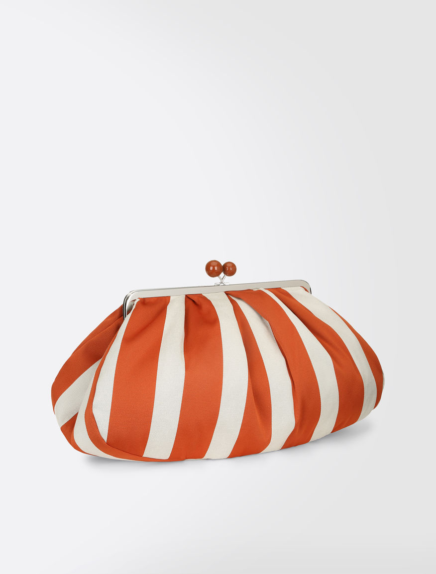 Pasticcino Bag Maxi in cotone rigato Weekend Maxmara