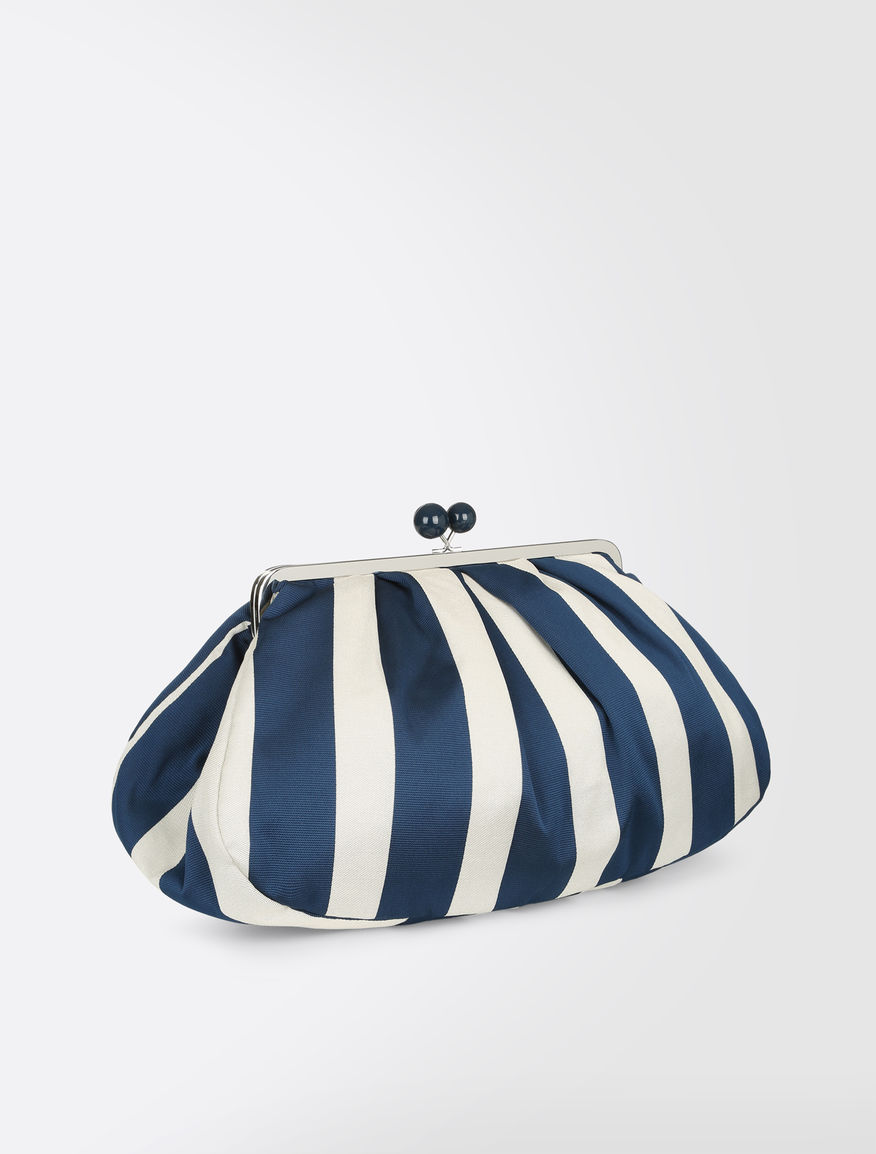 Striped cotton Maxi Pasticcino Bag Weekend Maxmara