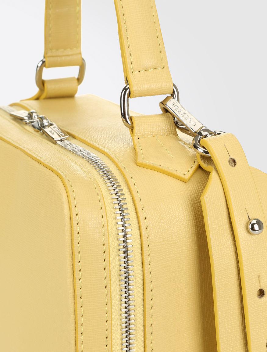 Leather Boston bag Weekend Maxmara