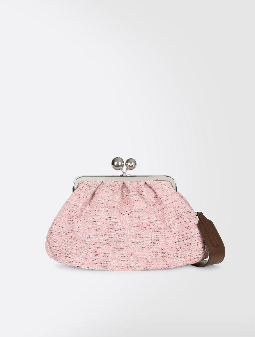 Medium Pasticcino Bag in wool bouclé Weekend Maxmara
