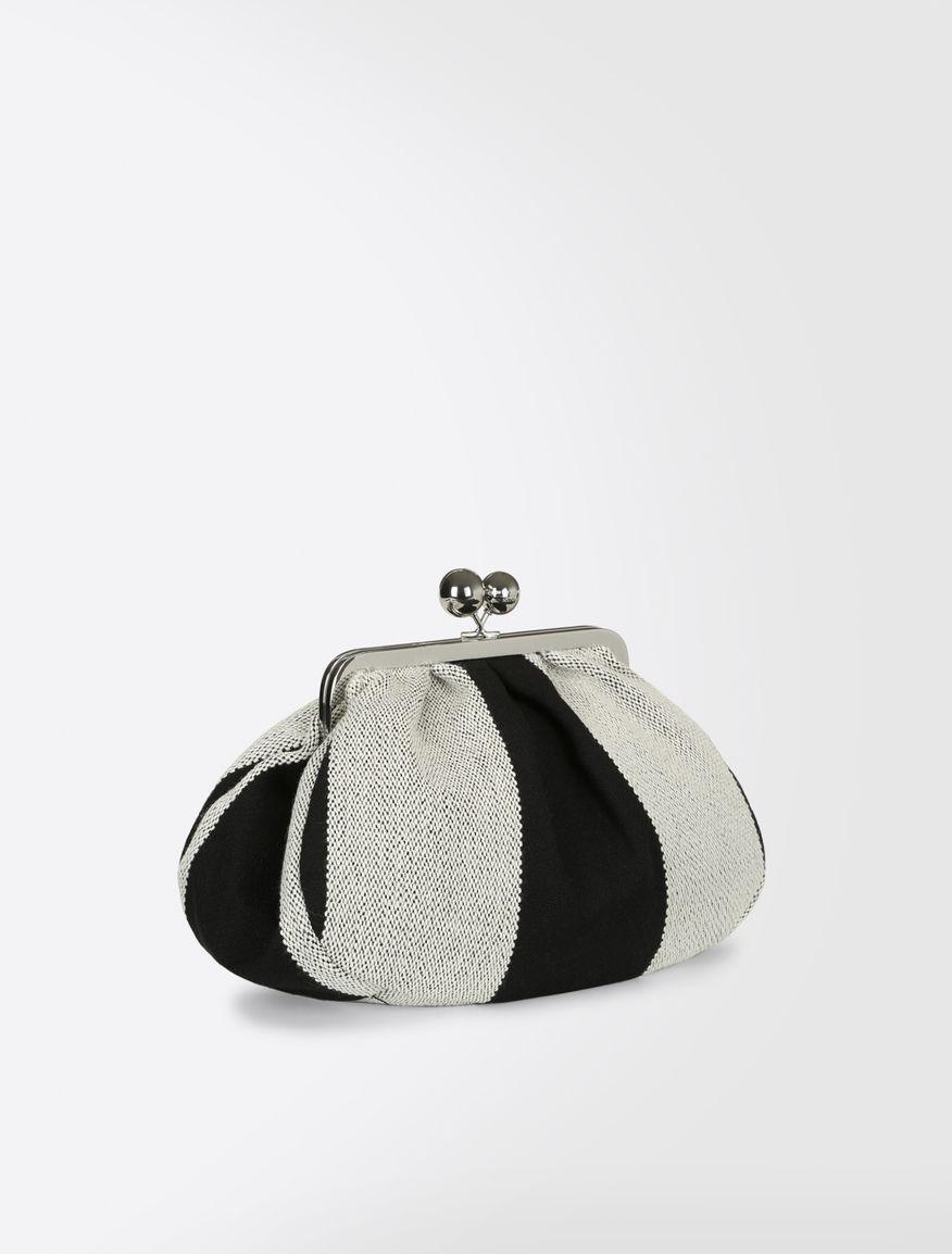 Pasticcino Bag Medium in tela di lana Weekend Maxmara