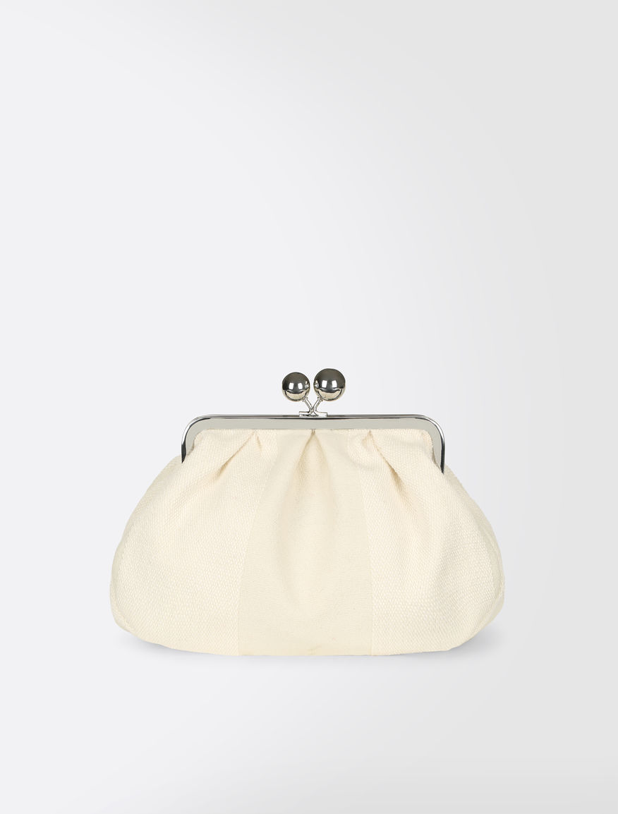 Medium Pasticcino Bag in woollen cloth Weekend Maxmara