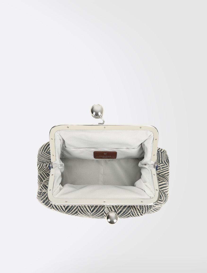Medium Pasticcino Bag in linen blend Weekend Maxmara