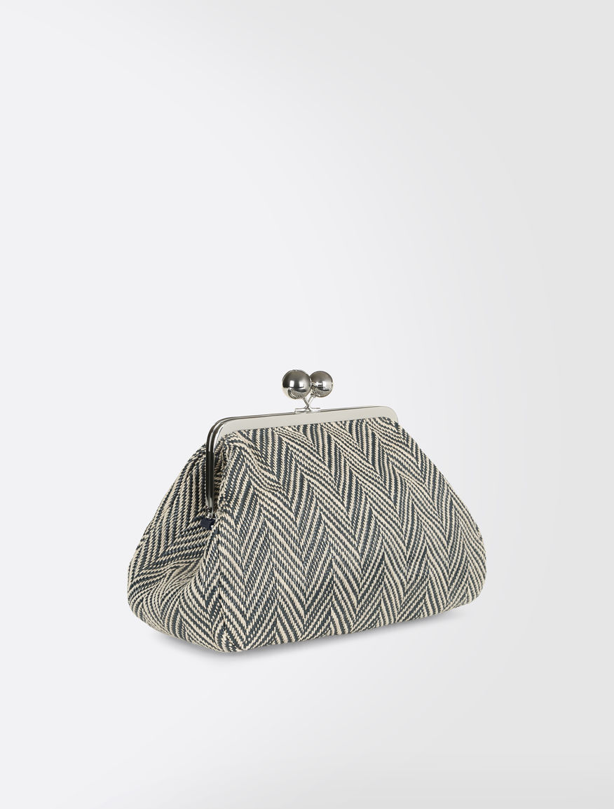 Medium Pasticcino Bag in linen blend Weekend Maxmara