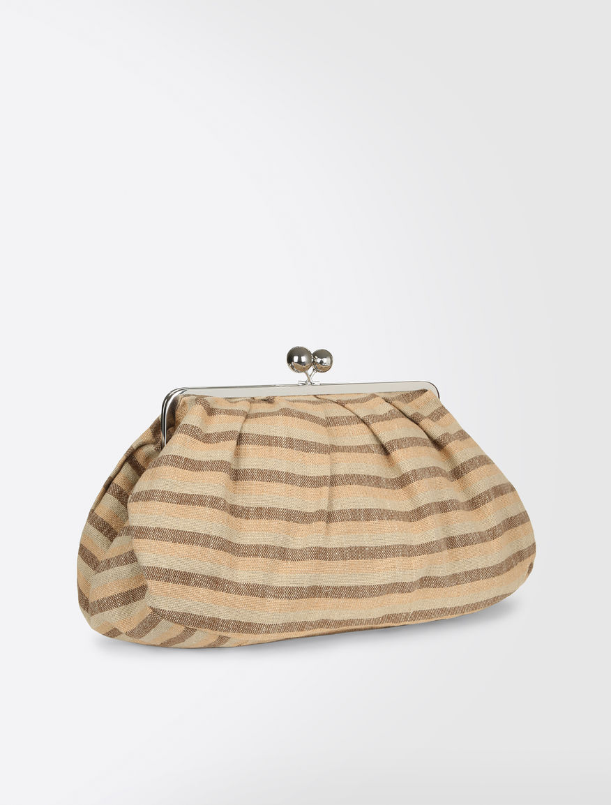 Maxi Pasticcino Bag in linen cloth Weekend Maxmara