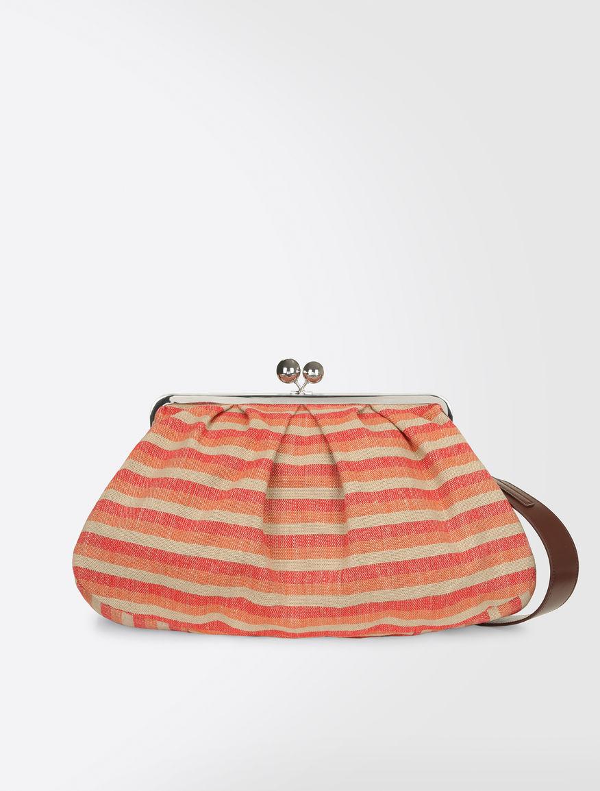 Maxi Pasticcino Bag in linen cloth Weekend Maxmara