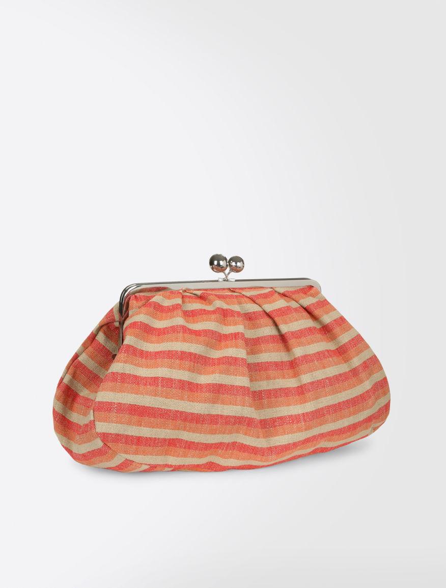 Pasticcino Bag Maxi in tela di lino Weekend Maxmara
