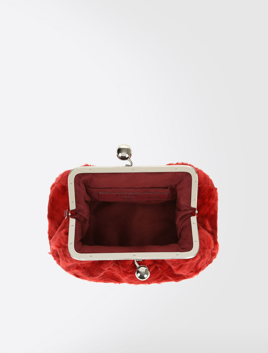 Medium Pasticcino Bag in fur Weekend Maxmara