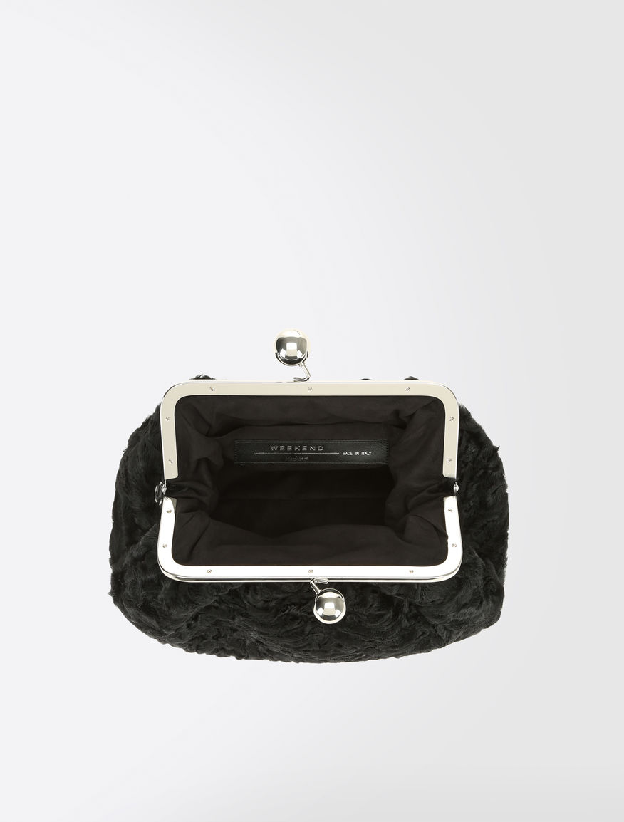 Medium Pasticcino Bag in fur Weekend Maxmara