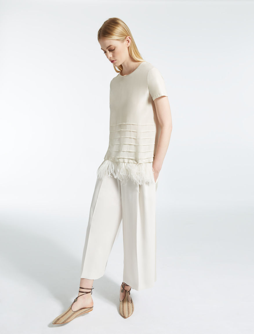 Linen cloth sabots Weekend Maxmara