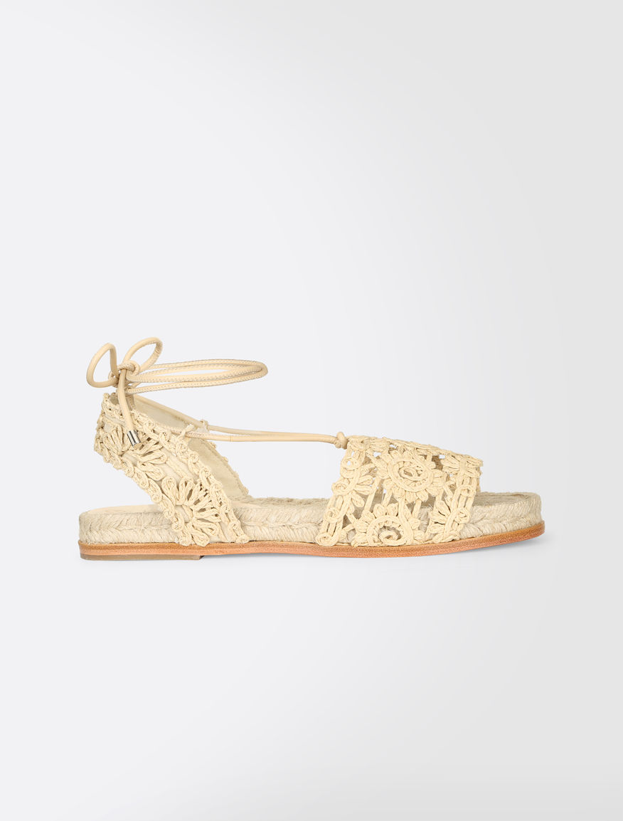 Crochet fabric sandals Weekend Maxmara