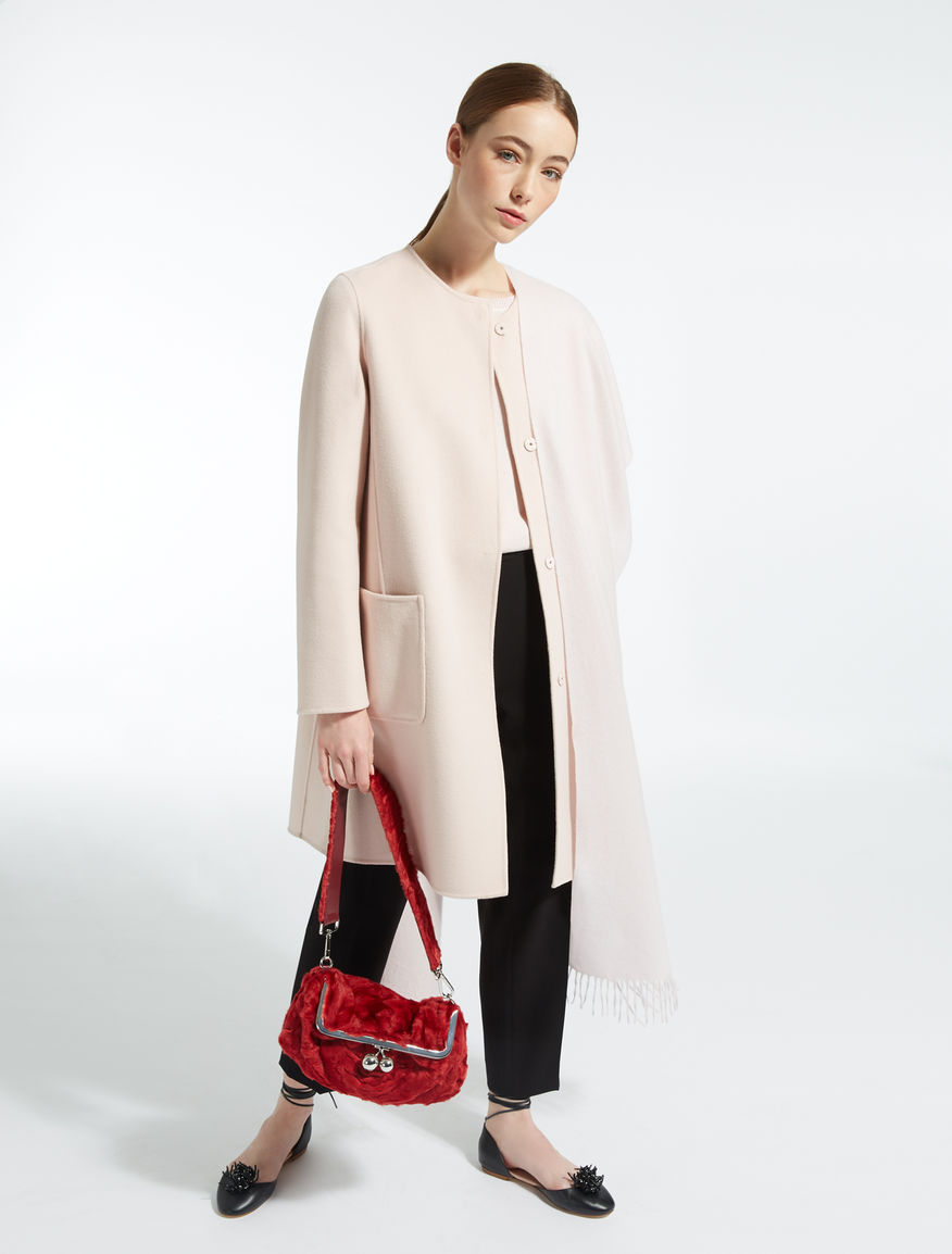 Lambskin Pasticcino Bag shoulder strap Weekend Maxmara