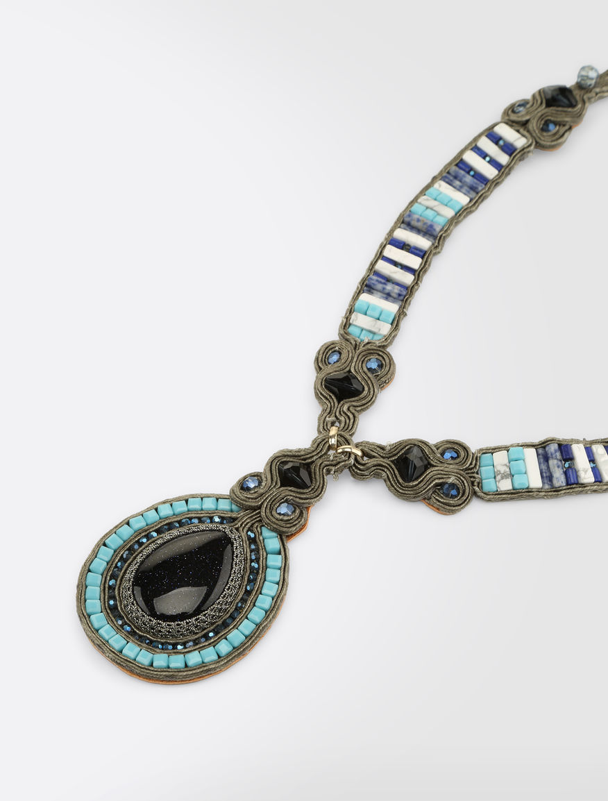 Ethnic necklace with pendants Weekend Maxmara