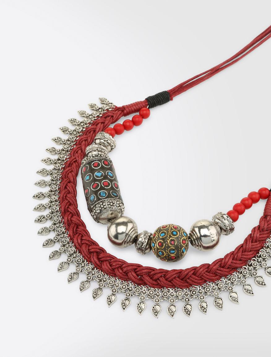 Ethnic metal necklace Weekend Maxmara