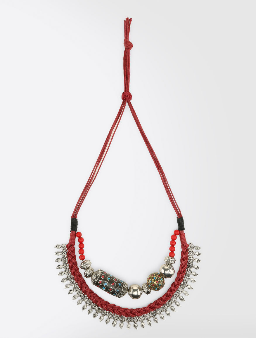 Ethnic metal necklace Weekend Maxmara
