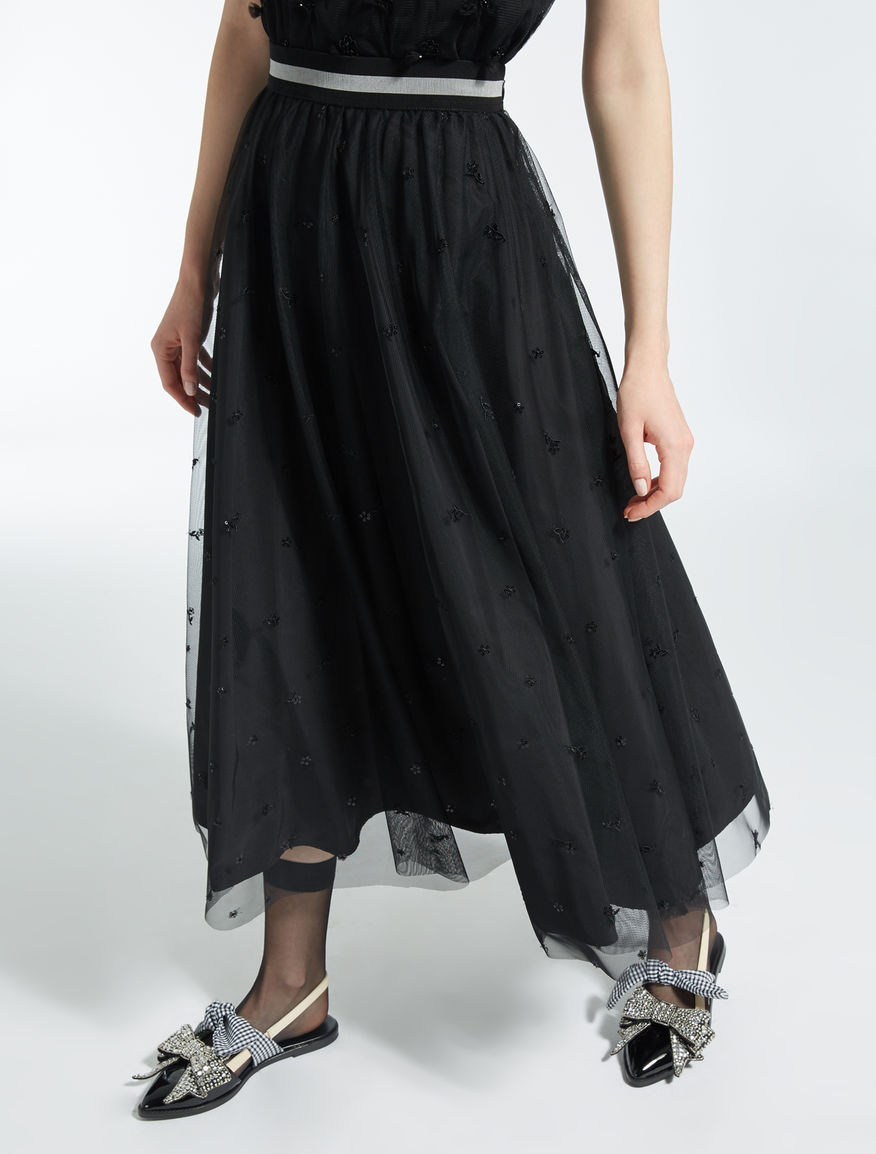 Skirt in jersey and tulle Weekend Maxmara