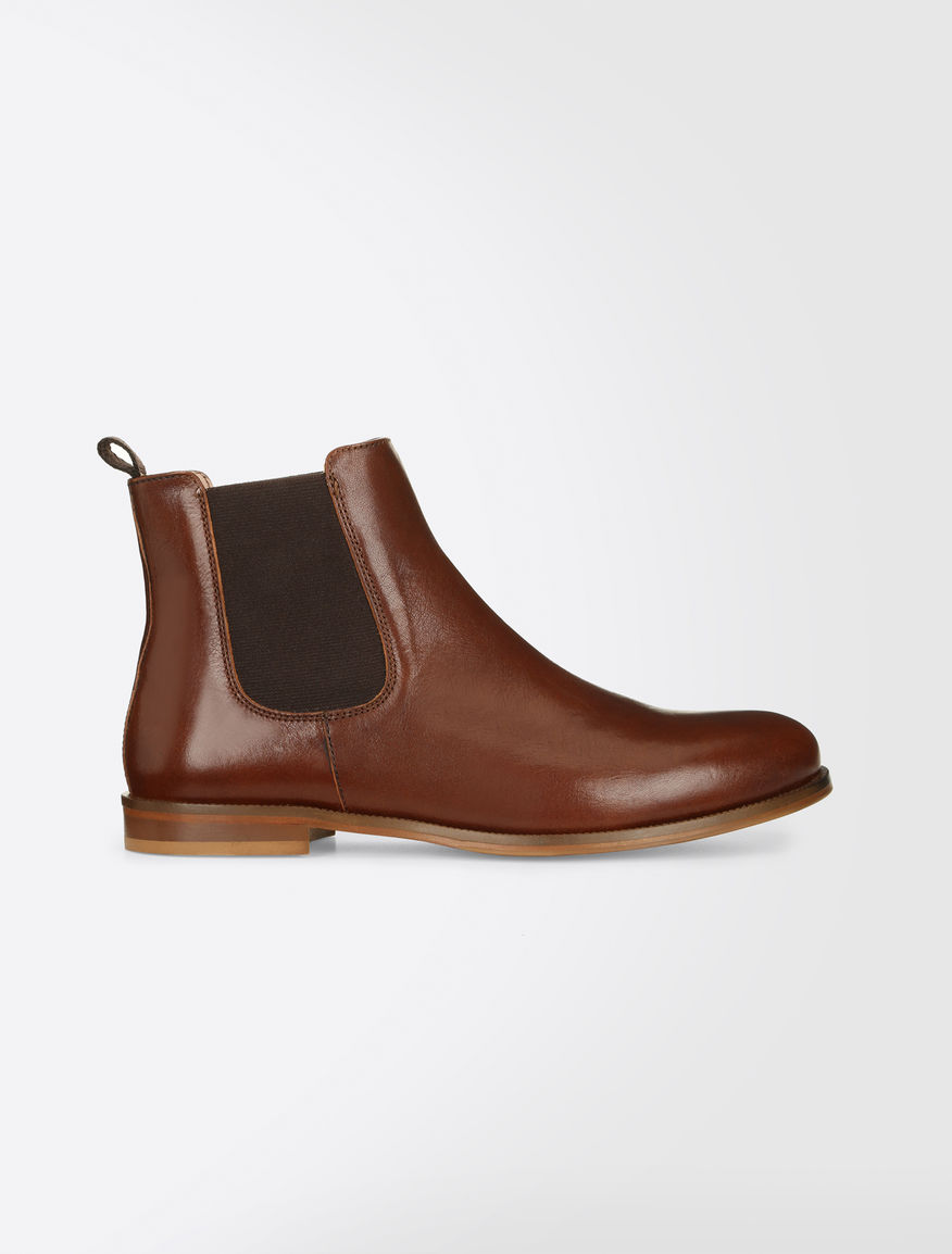 Leather Beatles boot Weekend Maxmara