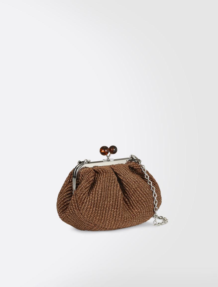 Pasticcino Bag Mini in rafia Weekend Maxmara