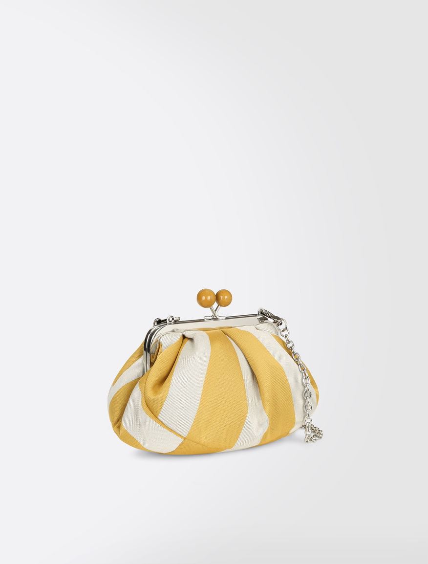 Striped cotton Mini Pasticcino Bag Weekend Maxmara
