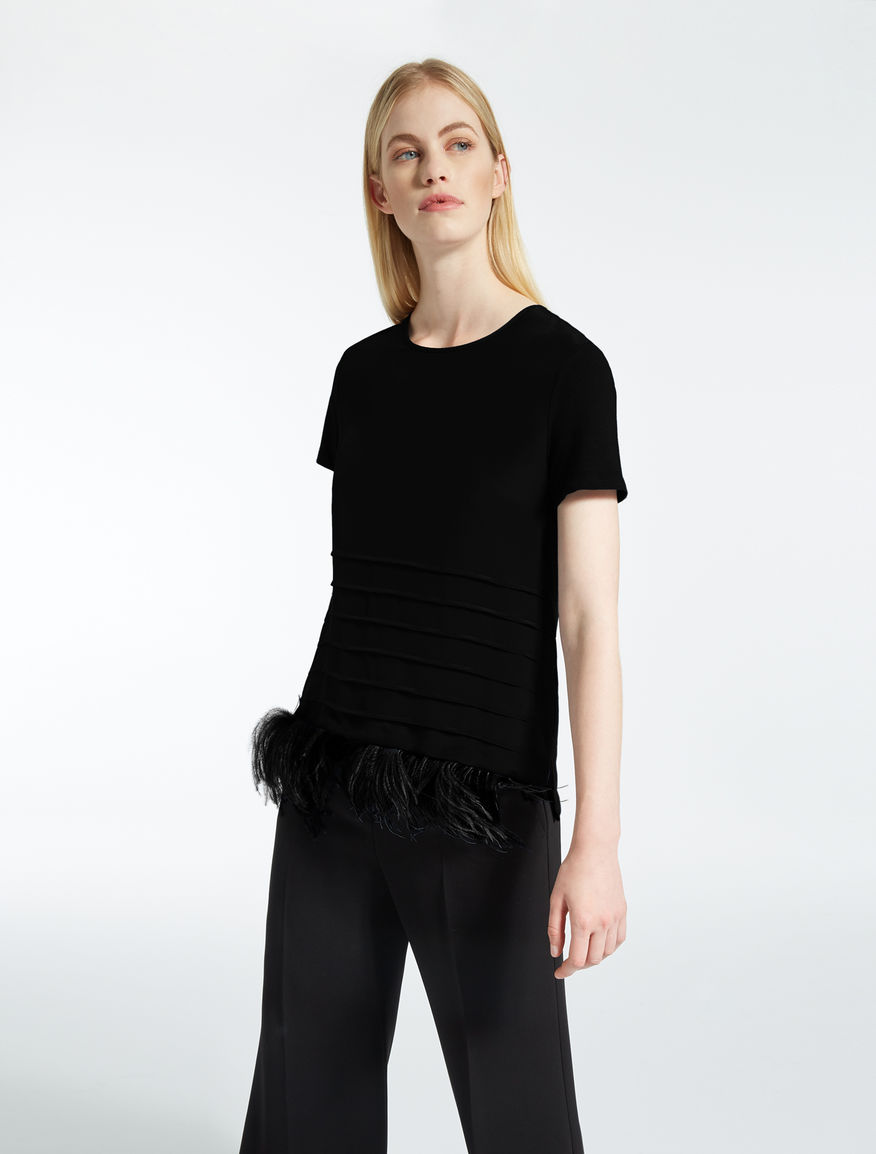 Silk and jersey T-shirt Weekend Maxmara