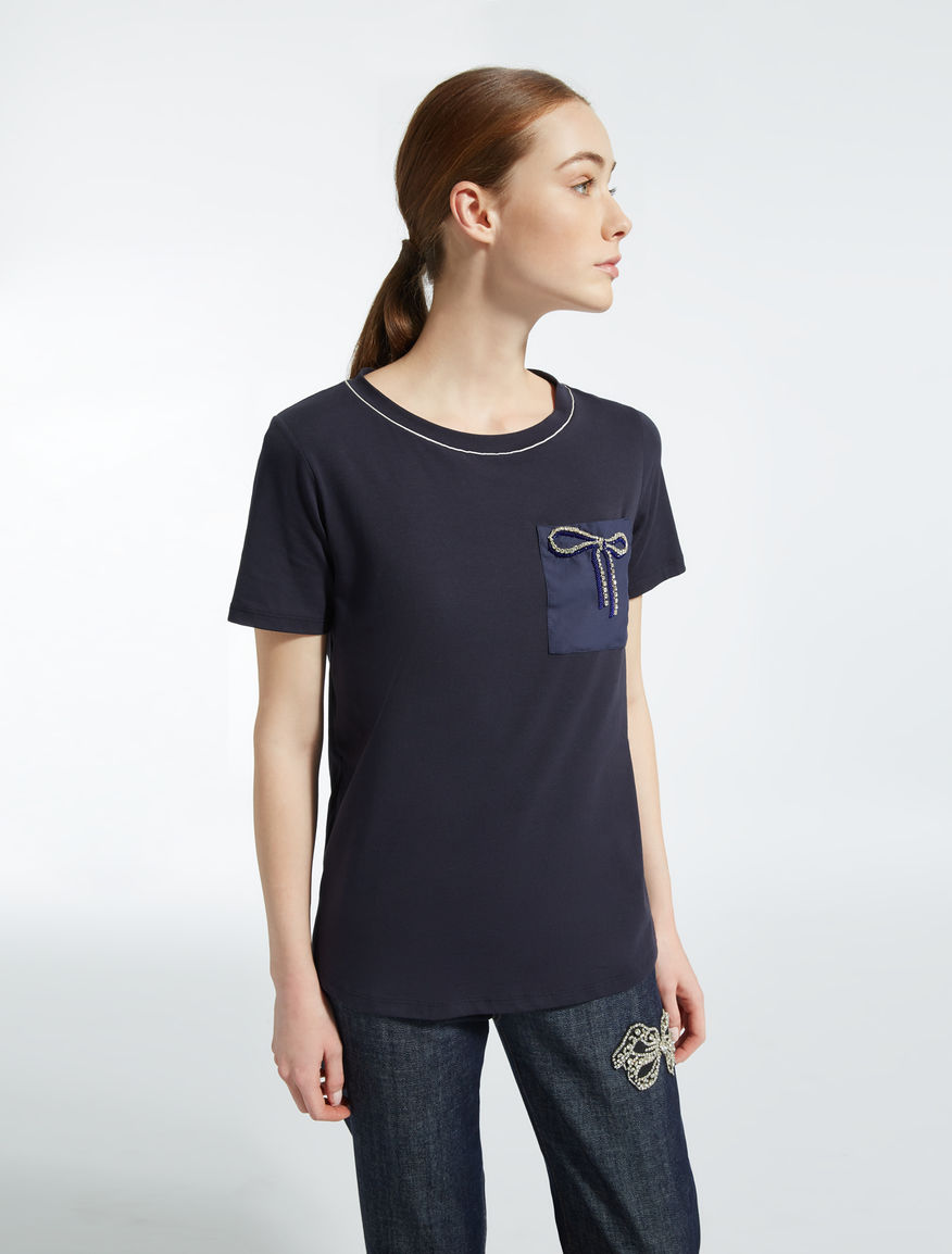 Stretch cotton T-shirt Weekend Maxmara