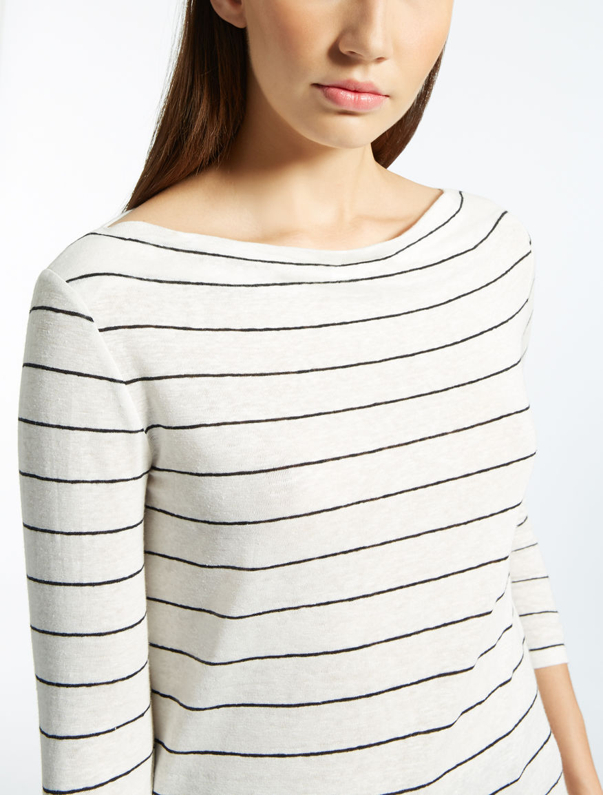 Linen jersey top Weekend Maxmara