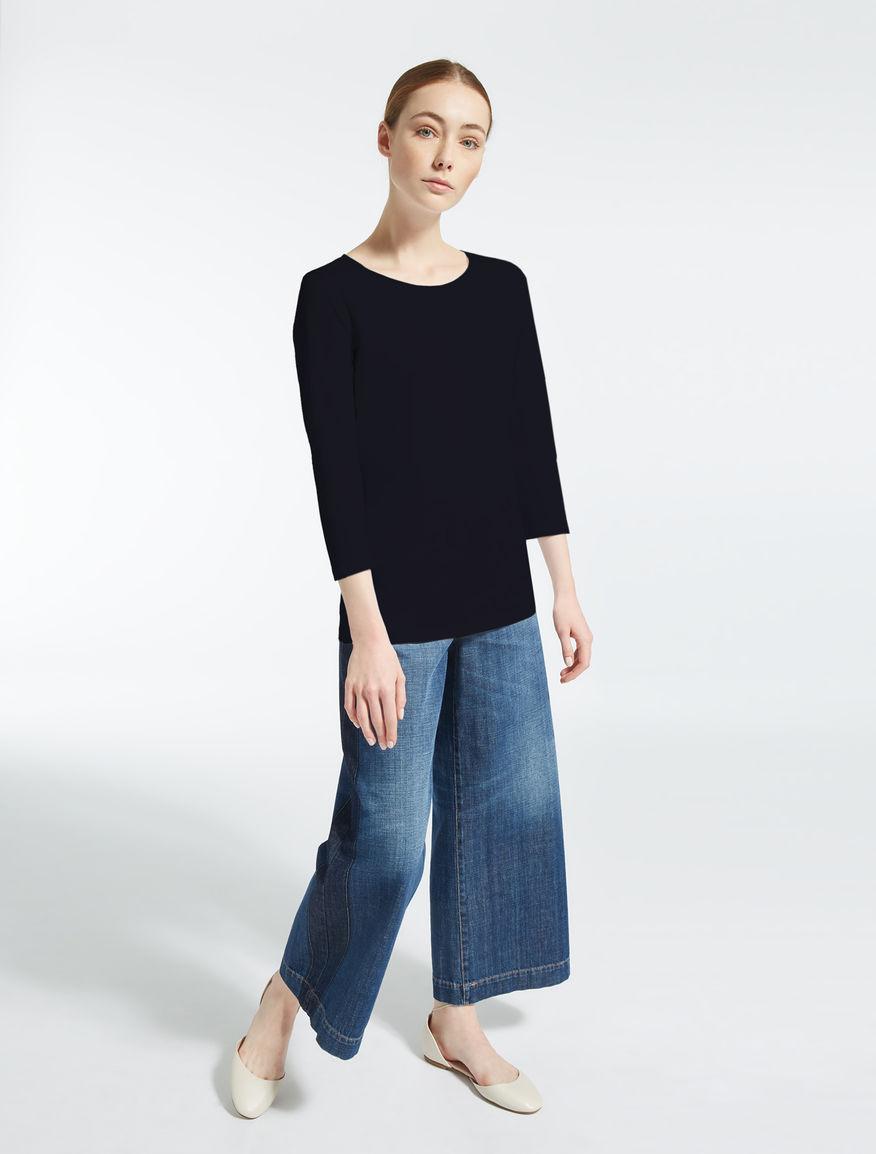 Stretch cotton T-shirt Weekend Maxmara