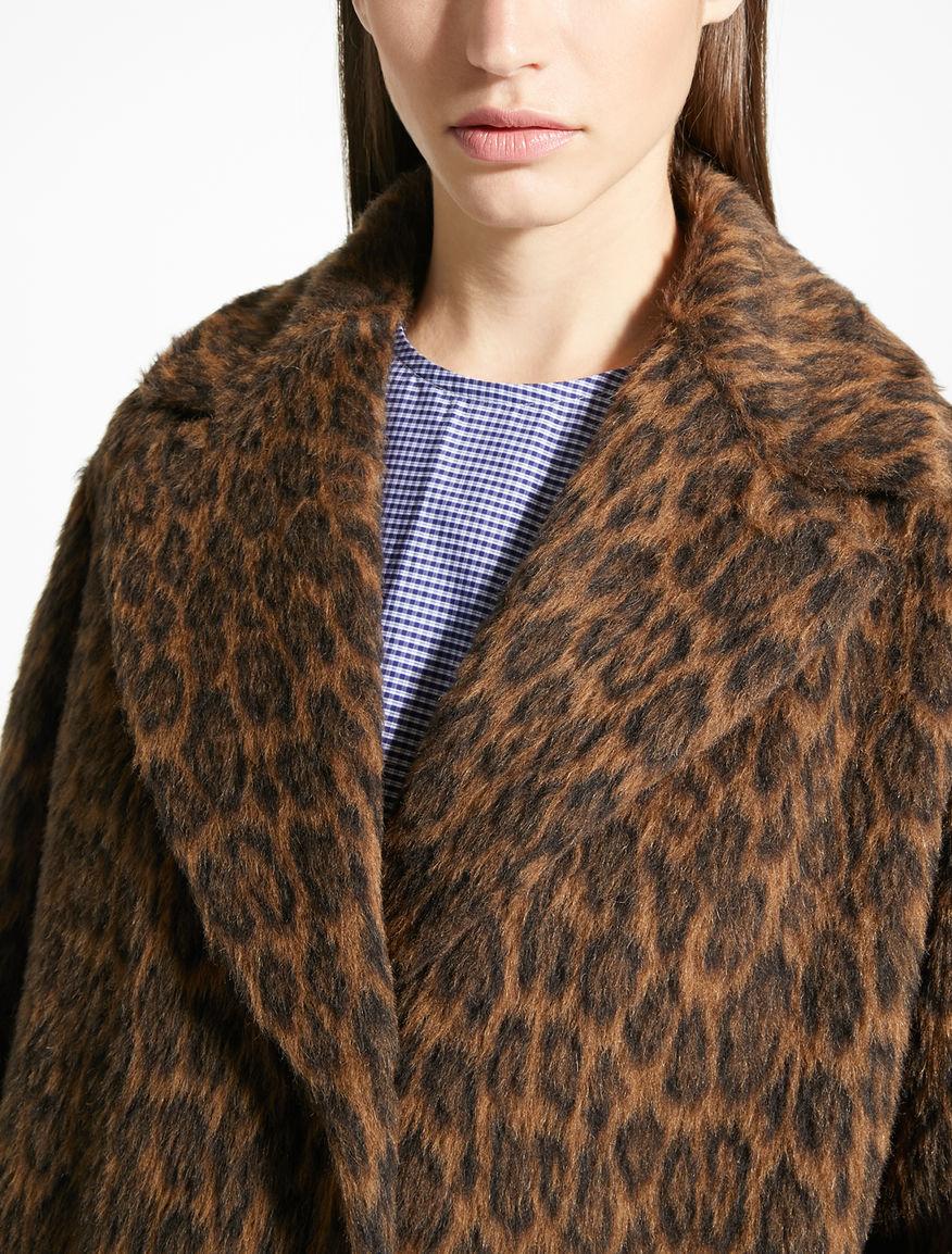 Cappotto in alpaca e lana jacquard Weekend Maxmara