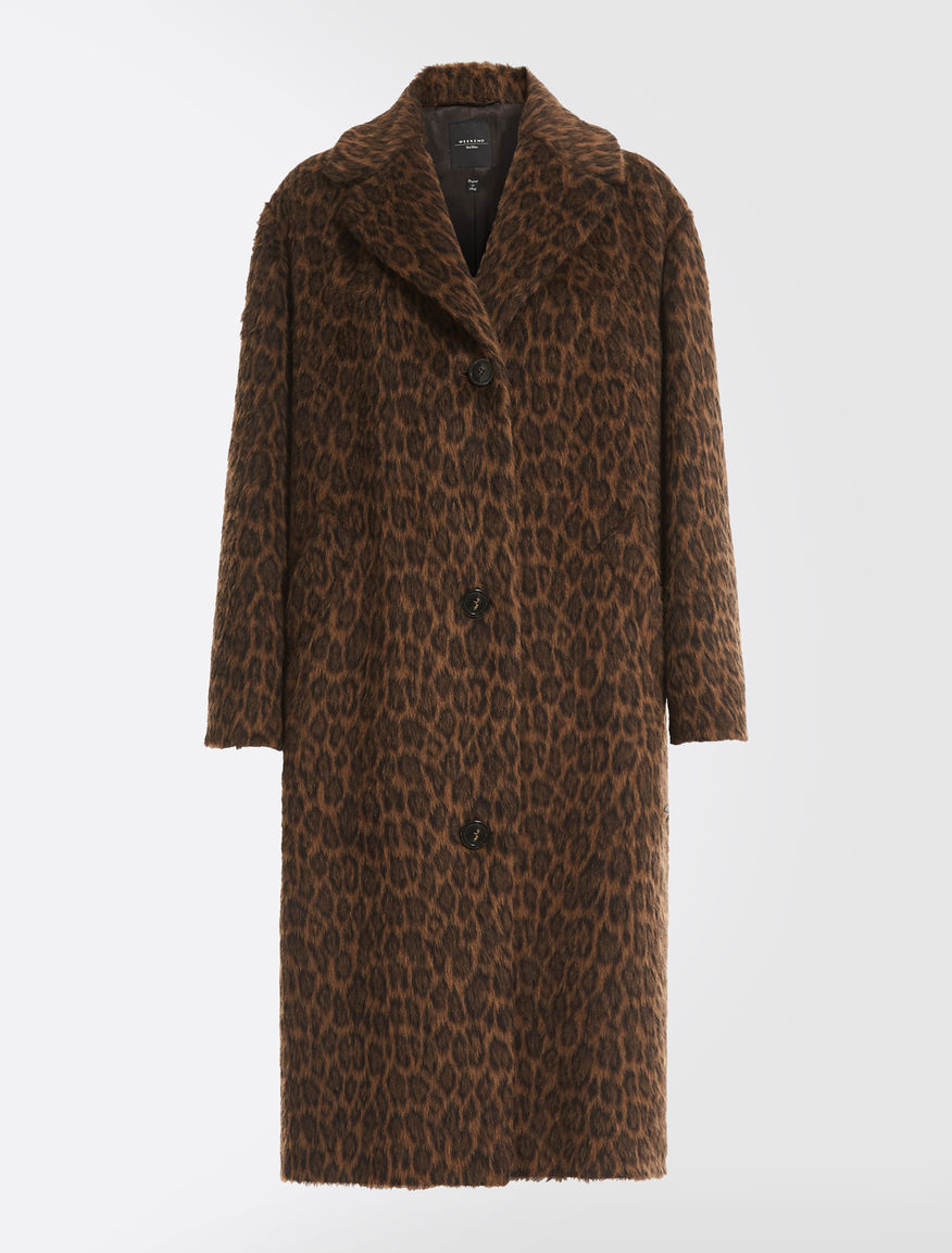 Cappotto in alpaca e lana jacquard Weekend Maxmara